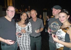 Wan, Gert, Nicklas och Cassandra. Jag själv längst till vänster.