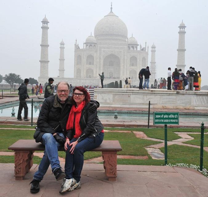 En av Indiens mer kända platser.